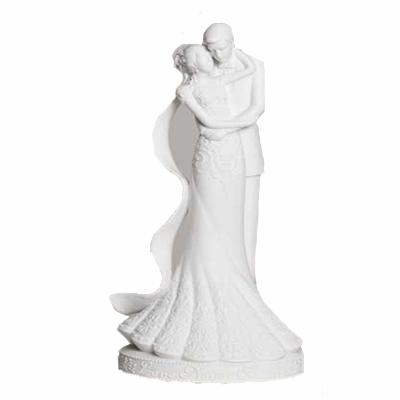 Bride & Groom Porcelain Wedding Cake Topper - Buy Wedding Cake ...