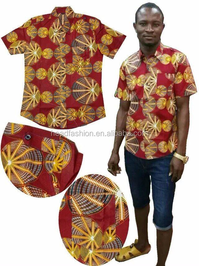 Afrikanische Männer T-shirt Nigerianischen Ankara Dashiki Männer ...