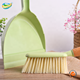 Hot sale whole seller Natural Cleaning Soft Bristle Bamboo Gutter Broom and Dustpan set for Carpet Sweeper Cleaning
