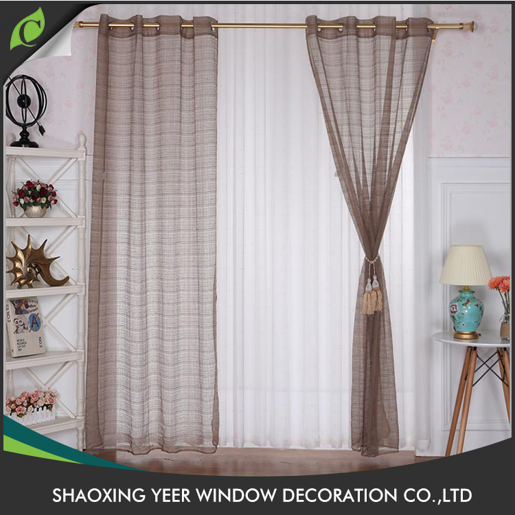 Upholstery curtain cheap price indian indian style print voile curtains