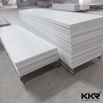 solid surface material shower wall panels milk white acrylic sheet