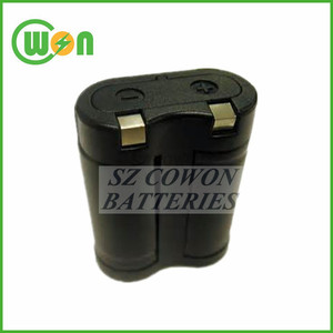 Lithium 6V 2CR5 battery for camera battery 2CR5 1700mAh