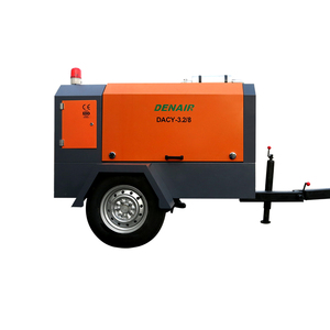 Denair 8bar 600 cfm diesel air compressor manufacturers