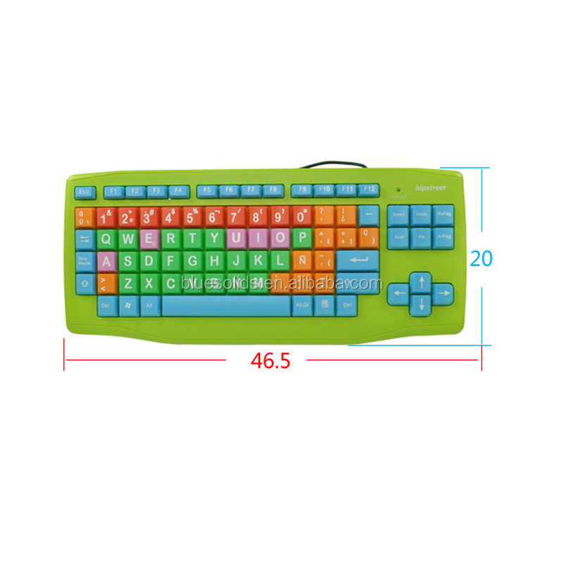 Fancy Colorful Kids/ Children Keyboard & Mouse Combo