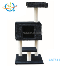 Wooden Cat Tree Outdoor Climbing Frame Cat Play House