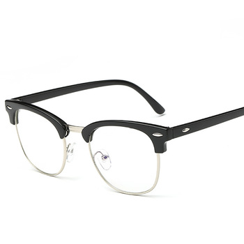 dc5e134fabbf Ready Stock Wholesale Outray Vintage Retro Classic Half Frame Horn Rimmed  Clear Lens Glasses