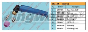 Taiwan SG-120 Plasma cutting torch