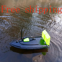Free shipping 500M remote fish finder 5200MAH mini fast electric RC boat carp fishing bait boat