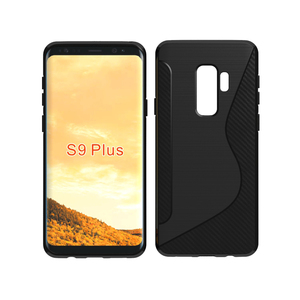 Most Popular Products China NS Brushed Black Matte TPU Blank Cell Phone Case For Samsung Galaxy J7 2016 J710 S9 Plus
