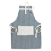 kitchen fashion cotton waterproof cooking apron women oil proof apron