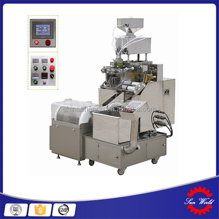 Cheap And High Quality HSR-100 soft gelatin / automatic capsule making machine