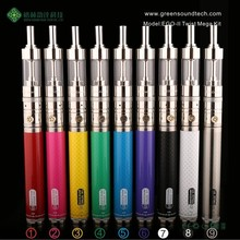 popular ego vaporizer GS Ego II Twist 2200mah Mega Kit Cigarrete Electronic eGo Vapor Starter Kit