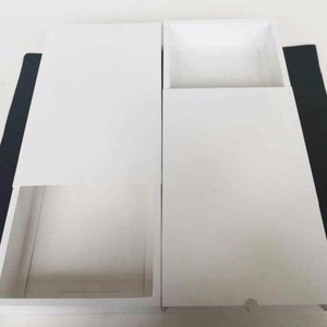 White cardboard made paper match box packaging from China supplier customized logo printing