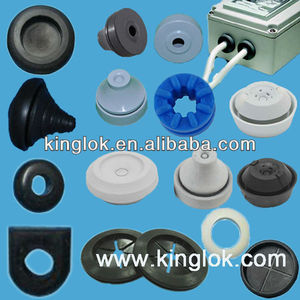 IP67 TPE Grommet Rubber opened snap