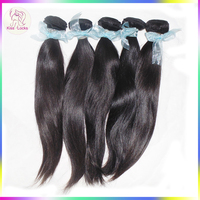 Alibaba Dropshipper 9A Natural Virgin Remy Hair Weaves Russian Diamond Straight Ponytail Styles