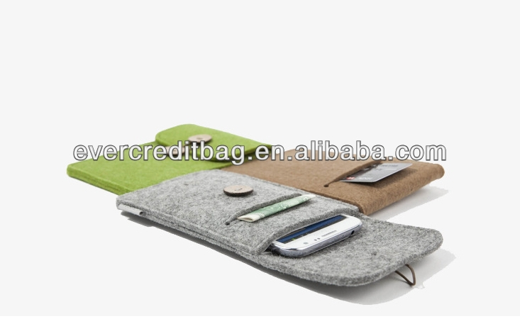 Promotional Iphone Protective Carry Felt Bag China Supplier