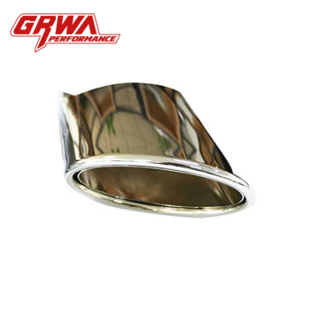 Grwa Modified Car Exhaust Ss304 Oval Exhaust Tip