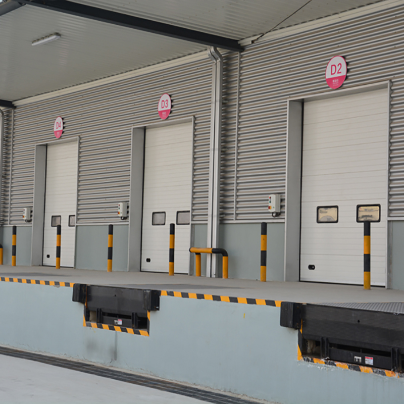 Full Automatic Control Insulated Sectional Electronic Door