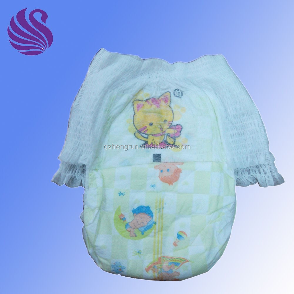 Wholesale China Soft Breathable Baby Diaper Training Pants