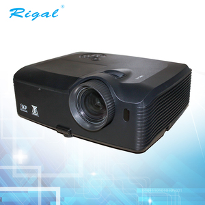 5000 Lumens high lumen led projector 1920*1080 support 1080P for home theater