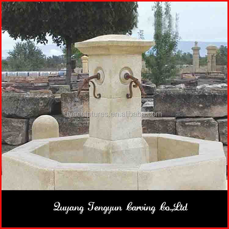 famoso san fuente de piedra antiguos reproduccin de mrmol de agua llena de arte base de