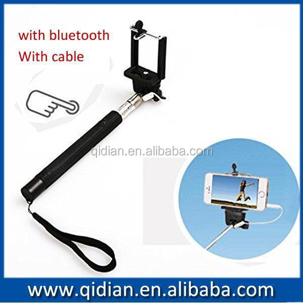 Low price professional selfie stick monopod tongsis for iphone