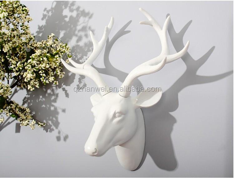 Witte Herten Hoofd Decoratie Ornament Buy Witte Herten Hoofd Herten Hoofd Decoratie Herten Hoofd Ornament Product On Alibaba Com