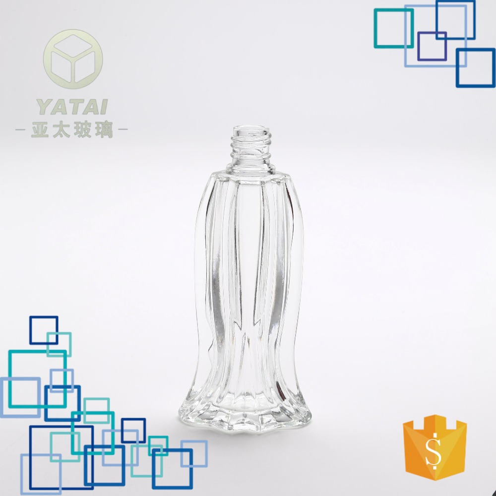 35ml wholesale fish shape glass perfume bottle with high quality