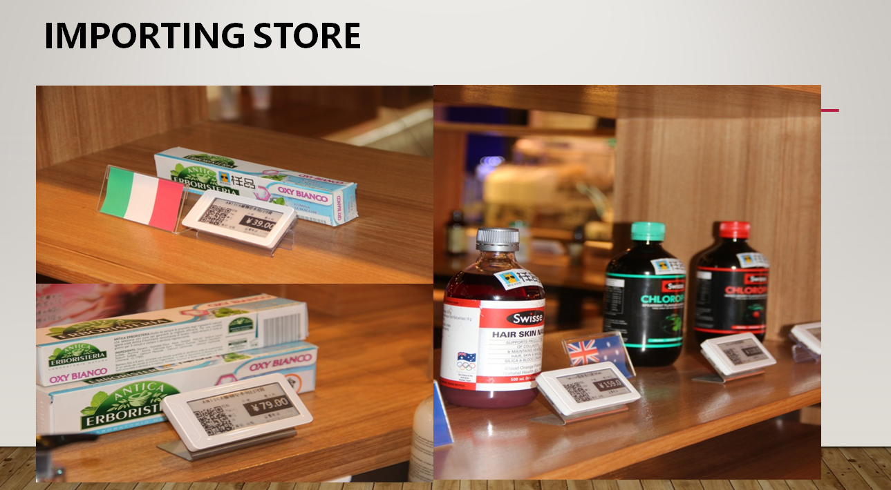 New Retail use stable and economic ESL management  RFID e-ink display providing SDK for third party developing