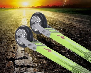 High quality roller ski/difference between classic and skate skis