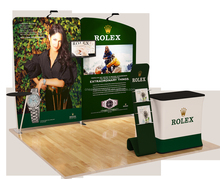 One booth One Case Promotion pop up displays for trade shows