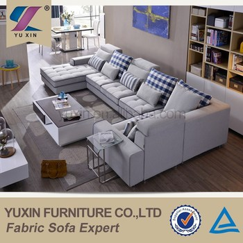 Newly American Living Style Sectional Sofa Furniture Big American