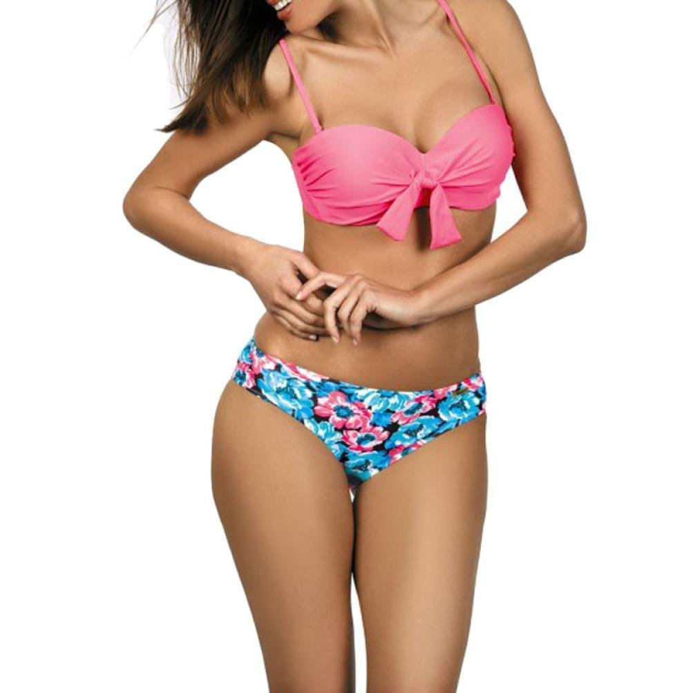 151f2dca3d2 Get Quotations · Sexy Women Bikini Set,Sefter Femal Bandage Bikini Monokini  Push Up Padded Bra Swimwear Tie