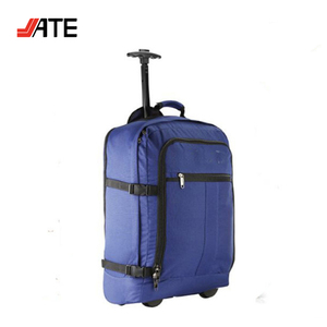 Trolley Laptop Backpack,Trolley Backpack With wheels, Triangle Backpack Bag
