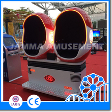 2016 hot selling!! 9D motion cinema with egg cabin,9d vr cinema with beautiful led light