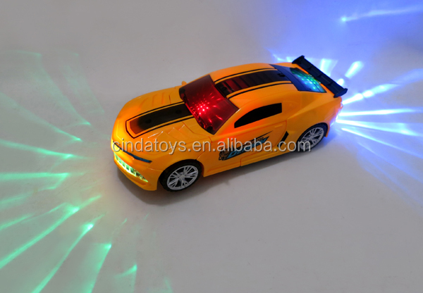 2017 car toys,deformation robot electric car with 3d light&music,children toys for sale