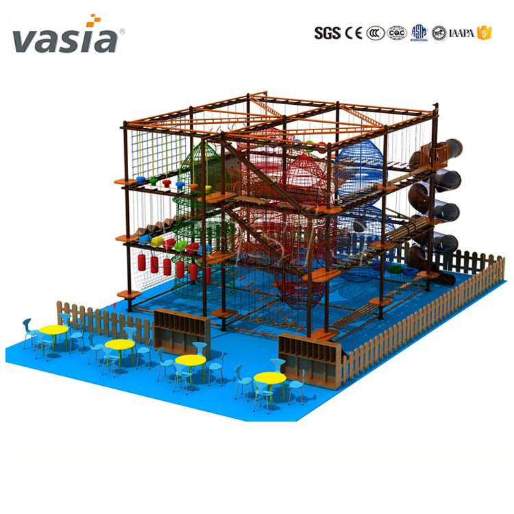 Hot-selling Chidren And Adult Climbing Frame Rope Adventure Course ...