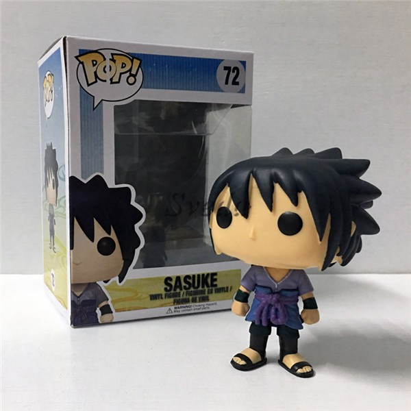 Hot Selling POP figure Naruto pop #72 Sasuke, High quality POP figure factory price