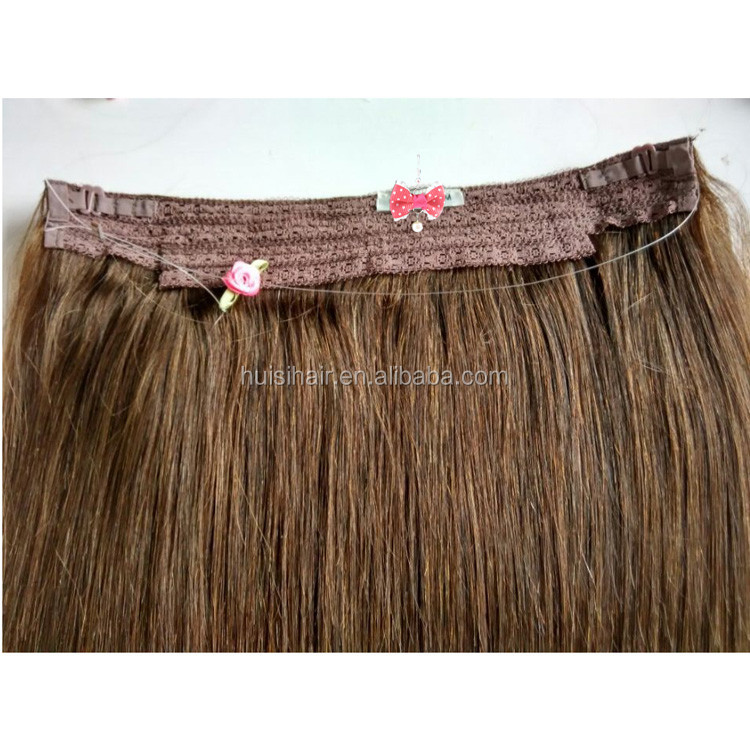 "Reliable & professional 12"" 16"" 20""new coming halo couture hair delightful & beautiful halo hair extensions"