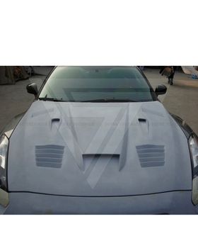 Vent Style Carbon Fiber Engine Hood Bonnet  For Nissan R35 GTR