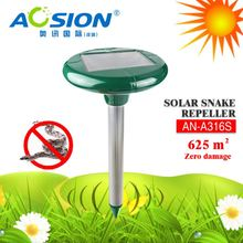 Aosion Solar powered sonic + vibrate 625 sq.m protection outdoor electronic anti snake