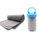 High quality contracted pva super wet cooling towel for runners