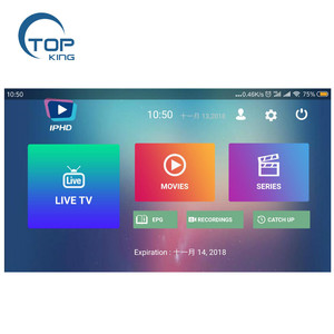 Wholesale Italy German French Canada US UK IPTV subscription for smart tv box