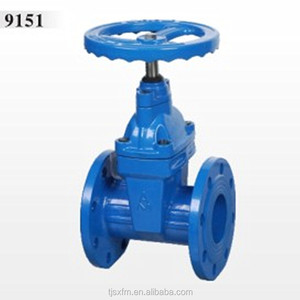9151 Risingmanual Non Stem Seated cast iron gate valve