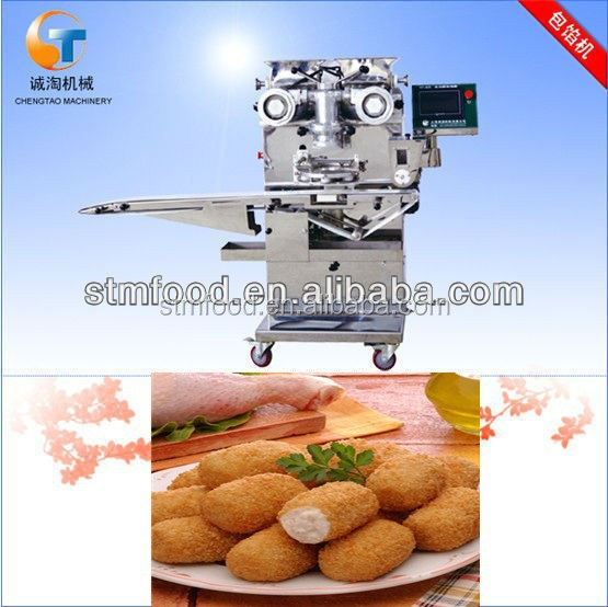 PLC multifunction Automatic croquette encrusting and forming machine
