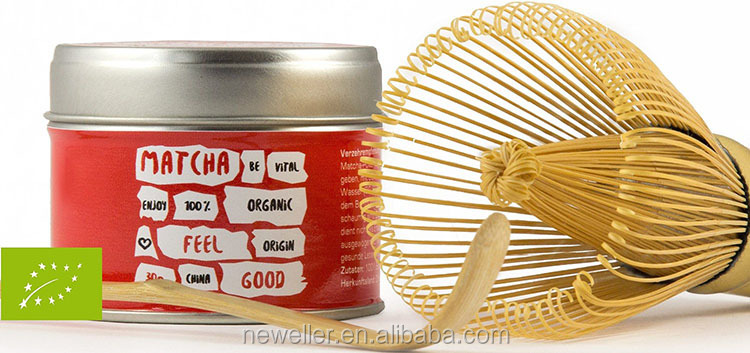 china supplier bamboo material matcha green tea whisk with printing