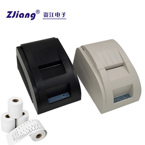 90mm/sec high printing speed desktop monochrome 58mm pos terminal receipt printer