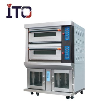 Luxury Electric Gas Deck Oven With Proofer Buy Oven With
