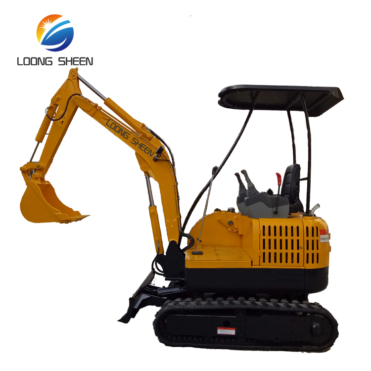 Cheap Loongsheen 1.8 Ton Mini Excavator Model LX20-9 Digger