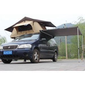 tents wholesale with two side retractable folding arm awning